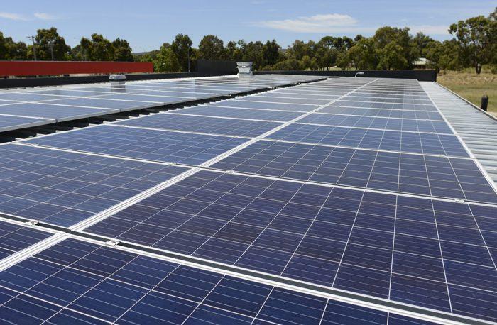 Caltex Stratton solar power system
